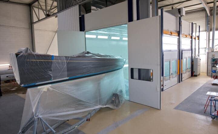 Visuel de cabine de peinture industrielle et sablage